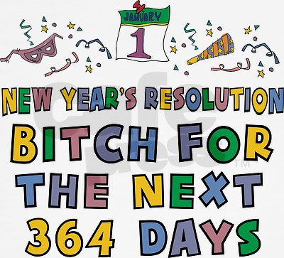 Happy New Year's resolution